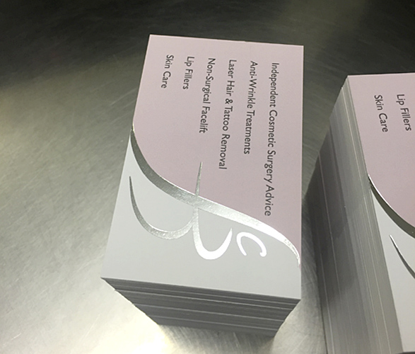 Foiling and Embossing